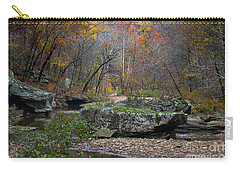 Fall On The Kings River Carry-all Pouch