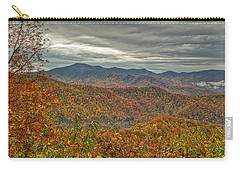 Carry-all Pouch featuring the photograph Fall Overlook by Meta Gatschenberger