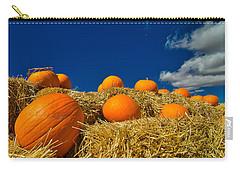 Fall Pumpkins Carry-all Pouch