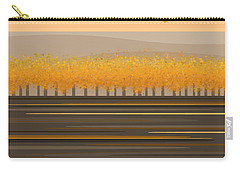 Fall Trees In A Row Carry-all Pouch
