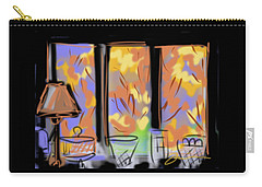 Fall Windows Carry-all Pouch