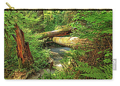 Fallen Trees In The Hoh Rain Forest Carry-all Pouch