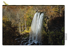 Carry-all Pouch featuring the photograph Falling Spring Falls by Pete Federico