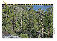 Carry-all Pouch featuring the photograph Falls Above Emerald Cove by Lynda Lehmann