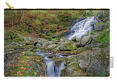 Carry-all Pouch featuring the photograph Falls Brook 2 by Bill Wakeley