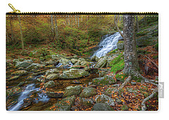 Carry-all Pouch featuring the photograph Falls Brook Autumn by Bill Wakeley