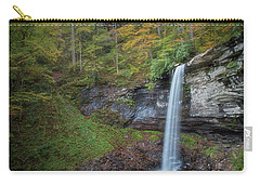 Carry-all Pouch featuring the photograph Falls Of Hills Creek by Russell Pugh