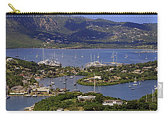 Carry-all Pouch featuring the photograph Falmouth Harbour by Tony Murtagh