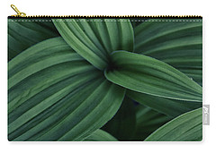 False Hellebore Plant Abstract Carry-all Pouch