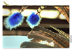 Feathers Of A Headdress Carry-all Pouch