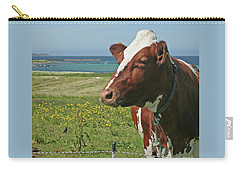 Carry-all Pouch featuring the photograph Fenced In by PJ Boylan