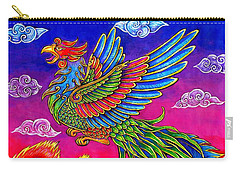 Fenghuang Chinese Phoenix Carry-all Pouch