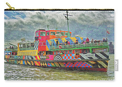Carry-all Pouch featuring the photograph Ferry Across The Mersey by Leigh Kemp