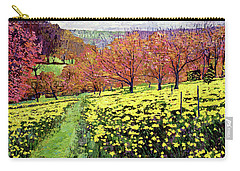 Fields Of Golden Daffodils Carry-all Pouch