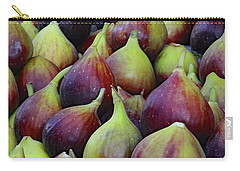 Carry-all Pouch featuring the photograph Figs by PJ Boylan