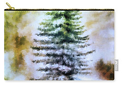 Fir Tree In Winter  Carry-all Pouch