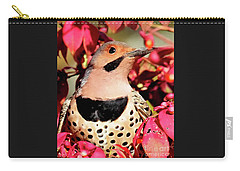 Fire Bush Flicker Carry-all Pouch
