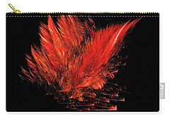 Fire Feathers Carry-all Pouch