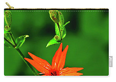 Carry-all Pouch featuring the photograph Fire Pink by Meta Gatschenberger