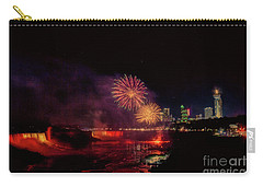Fireworks Over The Falls. Carry-all Pouch
