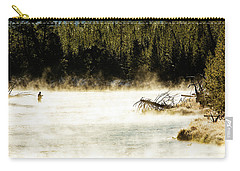 Carry-all Pouch featuring the photograph First Fish by Pete Federico