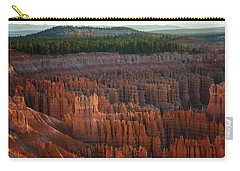 First Light On The Hoodoo Inspiration Point Bryce Canyon National Park Carry-all Pouch