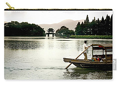 Fisherman At Wuxi Carry-all Pouch