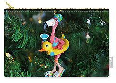 Flamingo Swimmer Carry-all Pouch