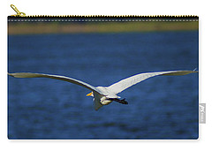 Flight Of The Egret Carry-all Pouch