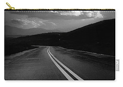 Carry-all Pouch featuring the photograph Flight Path by John Rodrigues