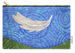 Floating Feather Carry-all Pouch