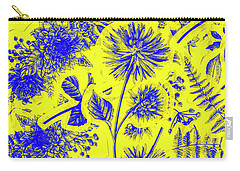 Flora And Foliage Carry-all Pouch