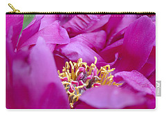 Carry-all Pouch featuring the photograph Floral Melody #1 by Ahma's Garden