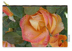 Carry-all Pouch featuring the photograph Floral Melody #2 by Ahma's Garden
