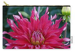Carry-all Pouch featuring the photograph Floral Melody #4 by Ahma's Garden