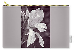Carry-all Pouch featuring the photograph Floral Memories I by Leda Robertson