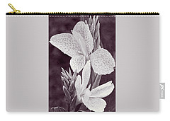 Carry-all Pouch featuring the photograph Floral Memories II by Leda Robertson