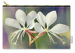 Carry-all Pouch featuring the photograph Floral Palette I by Leda Robertson