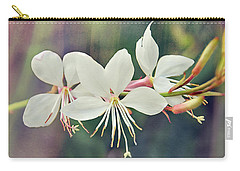 Carry-all Pouch featuring the photograph Floral Palette II by Leda Robertson