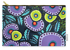 Floral Whimsy 12 Carry-all Pouch