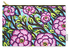 Floral Whimsy 3 Carry-all Pouch