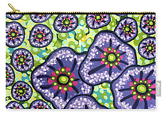 Floral Whimsy 4 Carry-all Pouch