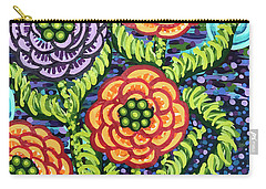 Floral Whimsy 5 Carry-all Pouch
