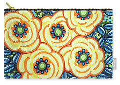 Floral Whimsy 7 Carry-all Pouch
