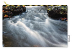 Carry-all Pouch featuring the photograph Flow by Russell Pugh