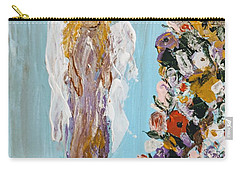Flower Child Angel Carry-all Pouch
