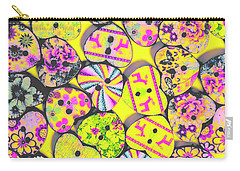 Flower Power Patterns Carry-all Pouch