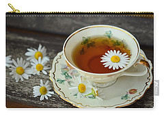 Flower Tea Carry-all Pouch