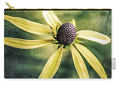 Carry-all Pouch featuring the photograph Flower Texture by Michael Arend