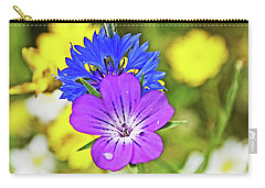 Flowers In The Meadow. Carry-all Pouch